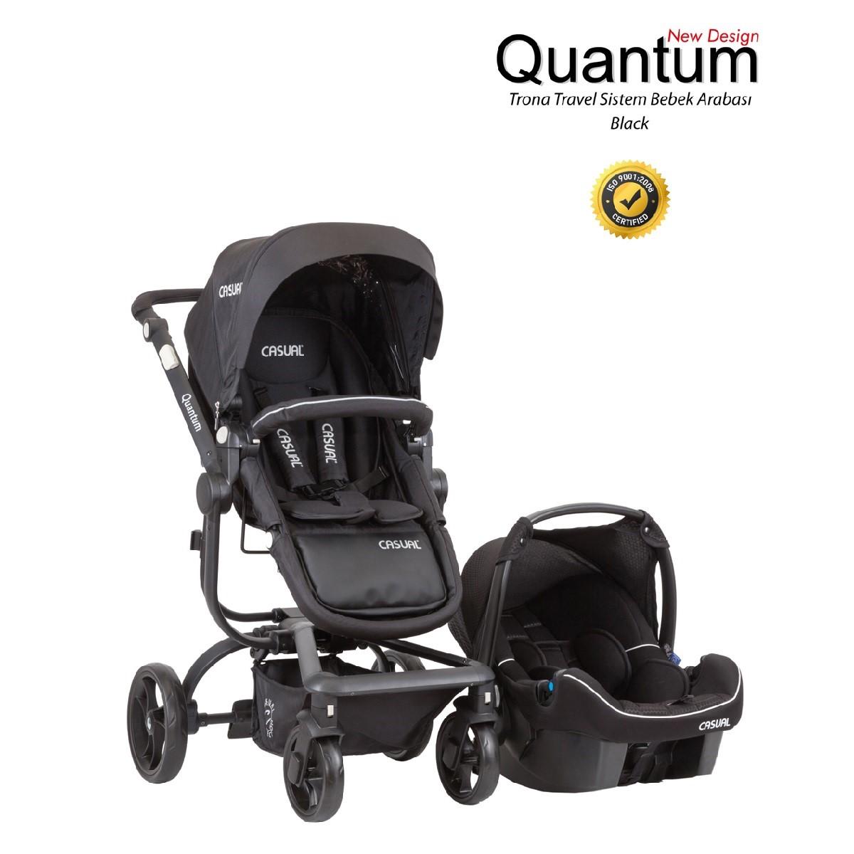 Quantum Trona  T/S Bebek Arabası  Black-17